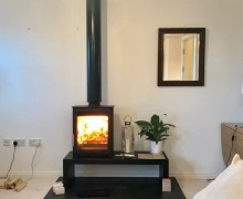 Aspect 5 Compact with Stovax 1m Bench