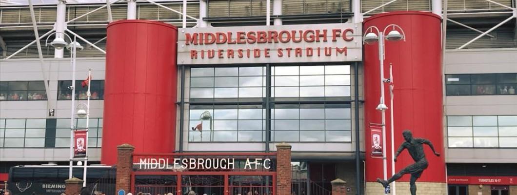 Sponsoring Middlesbrough FC