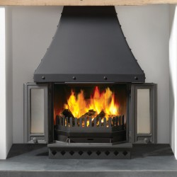 1800 Multifuel Fireplace