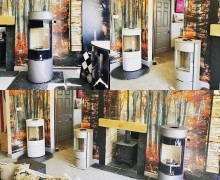 Rais Stoves in our Showroom